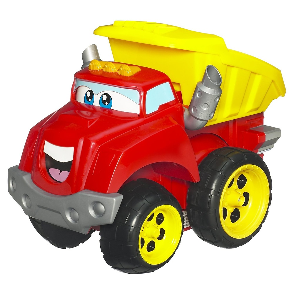 Интерактивная игрушка Говорящий самосвал Чак со звуковыми эффектами